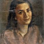 M-017: Frauenbildnis, 1945, 46x37cm, Öl auf Leinwand