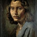 M-201: Annemarie von Specht, 1945, 46x35cm, Öl/Tempera auf Holz