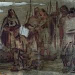 M-267: Fischerkomposition, 1931, 15,5x22cm, Öl auf Leinwand