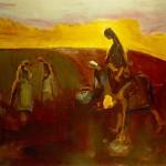 M-298: Pastorale, 1988, 72x86,5cm, Öl auf Holz