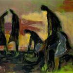 M-526: Herbst, 1991, 90x110cm, Öl auf Leinwand