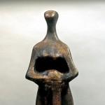 S-017: Jeanne d'Arc, 1970, H100xB36xT39cm, Kunststein