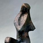 S-080: Hockende, ca. 1972, Bronze